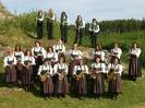 Musikverein Burghagel im Jahr 2003