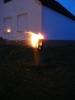 Sommernacht im Pfarrgarten am 26.07.2014